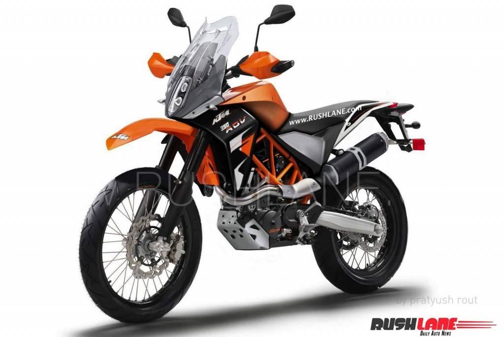 adventure ktm 390cc
