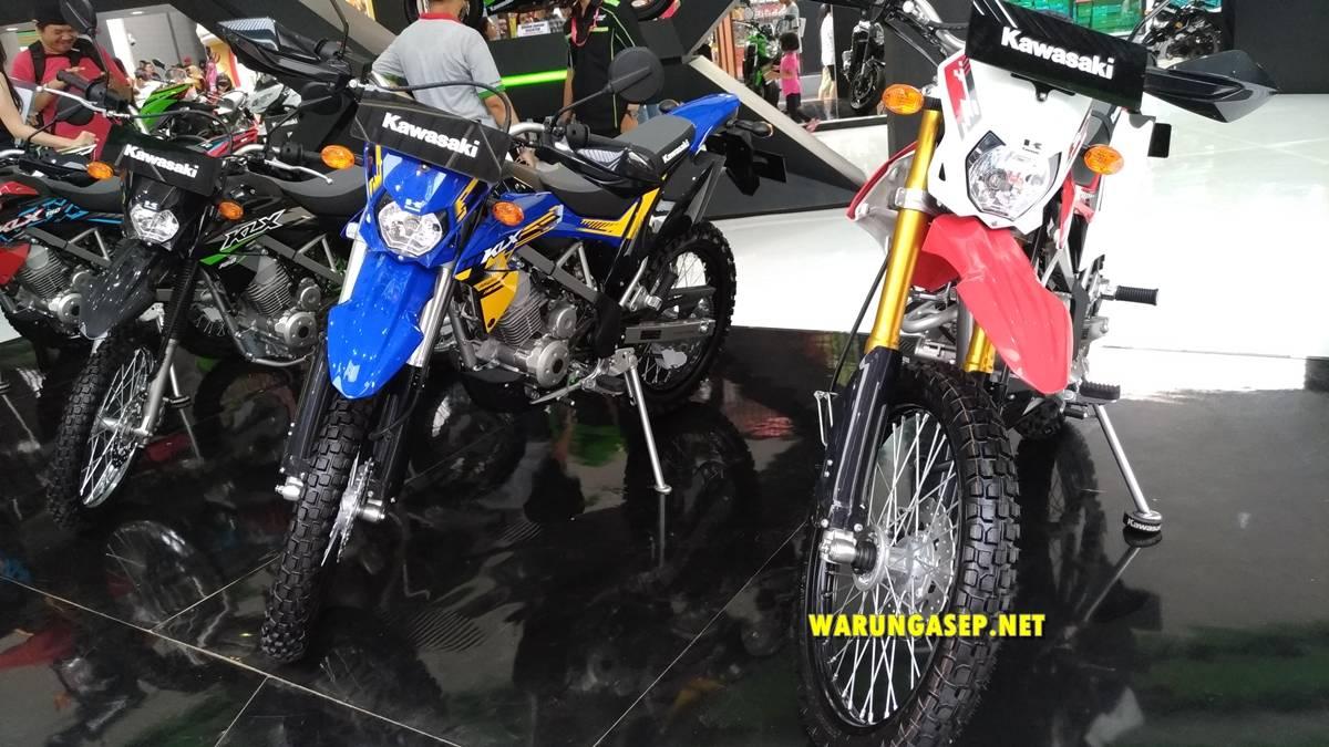 Ada Kawasaki Klx 150 Baru Di Jakarta Fair 2018 Harga Termurah Rp