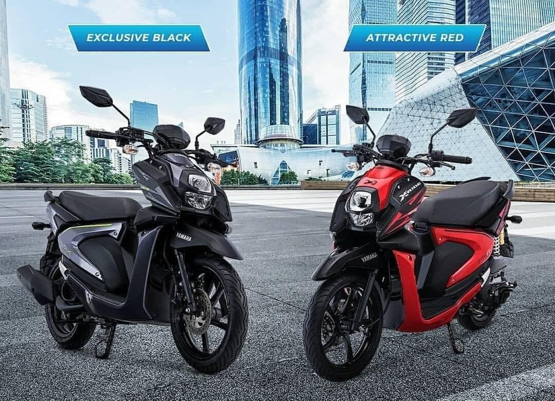Yamaha Xride 2018 Dirilis Harga Rp 17 650 000 Ada 2 Tipe Dan 4