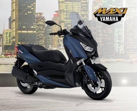 yamaha xmax 2018 biru