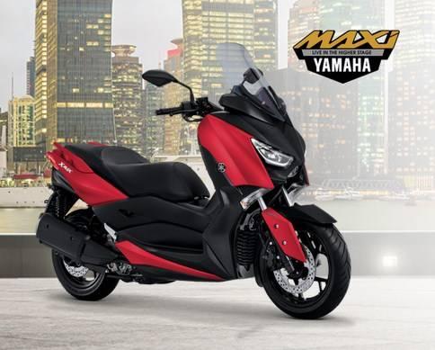 yamaha xmax 2018 merah