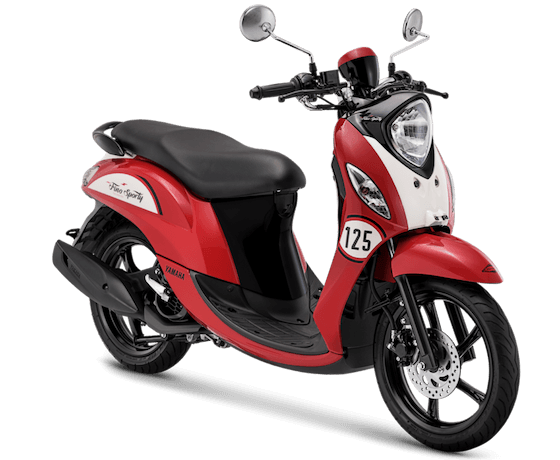 fino 125 2019 vintage red