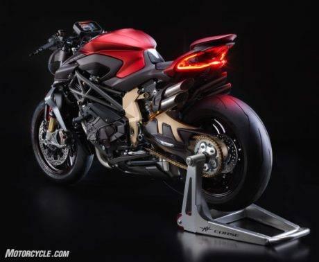 Spesifikasi MV AGUSTA Brutale 1000 Serie Oro, Power Hingga