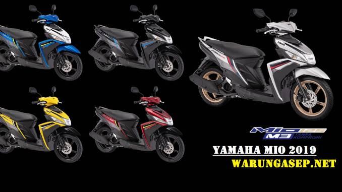 Yamaha Ego Solaris Mio M3 Malaysia 2018 Biru 1 Warungasep