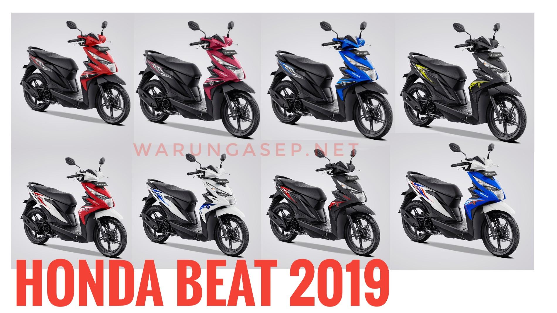 8 Warna Baru Honda Beat 2019 Harga Termurah Rp 15 5 Jutaan