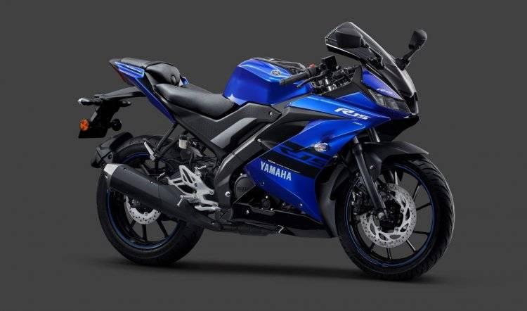 yamaha r15 abs 2019 race blue