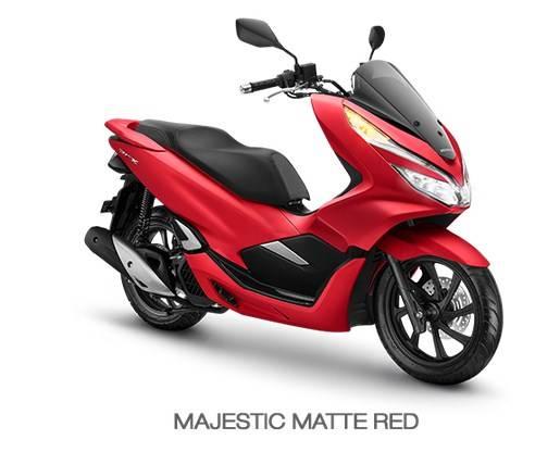 pcx matte red