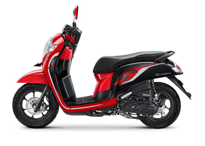 scoop 2019 sporty red