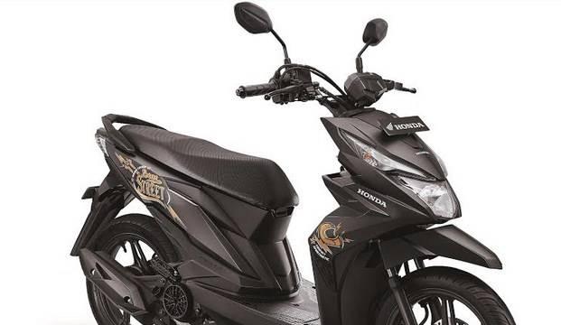 Cuma Ganti Striping Honda Beat Street Warna Hitam Harganya Naik