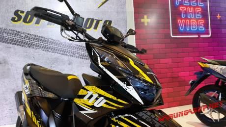Sadizz Honda Beat Street Dimodifikasi Ala Supermoto Pakai Upside Down Warungasep