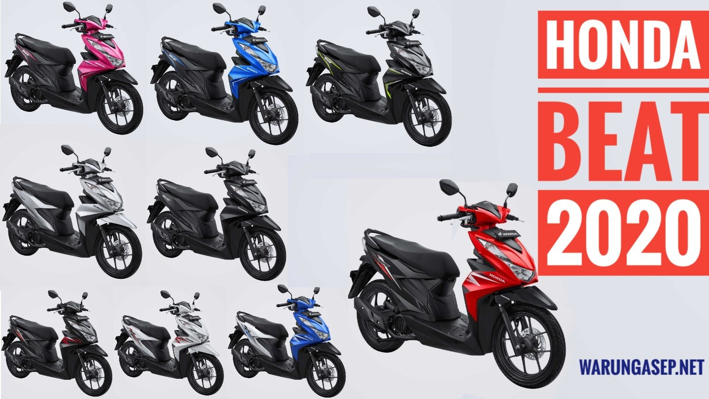 9 Pilihan Warna All New Honda Beat Esp Versi 2020 Foto Studio