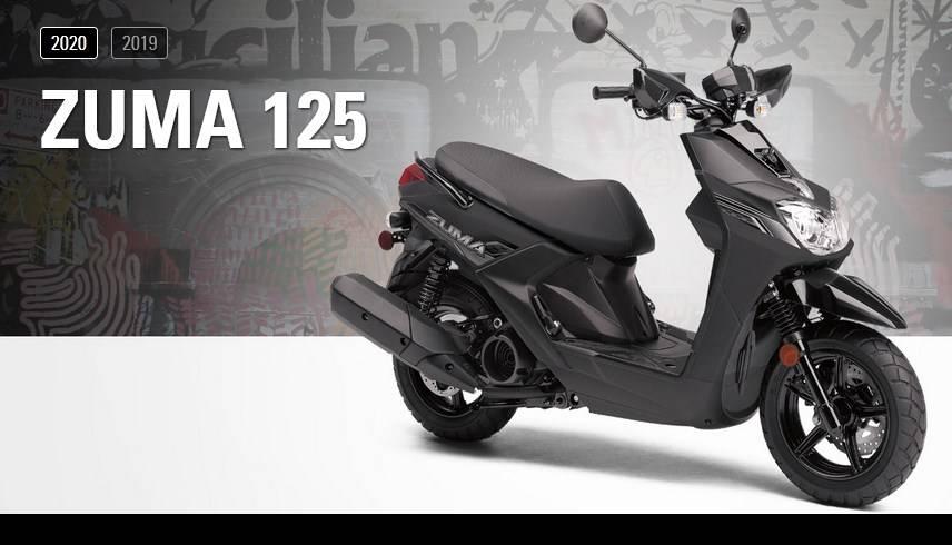 Yamaha zuma 2020