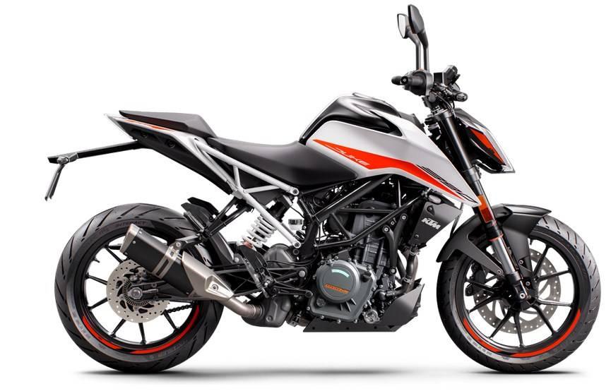 duke 390 2020 putih