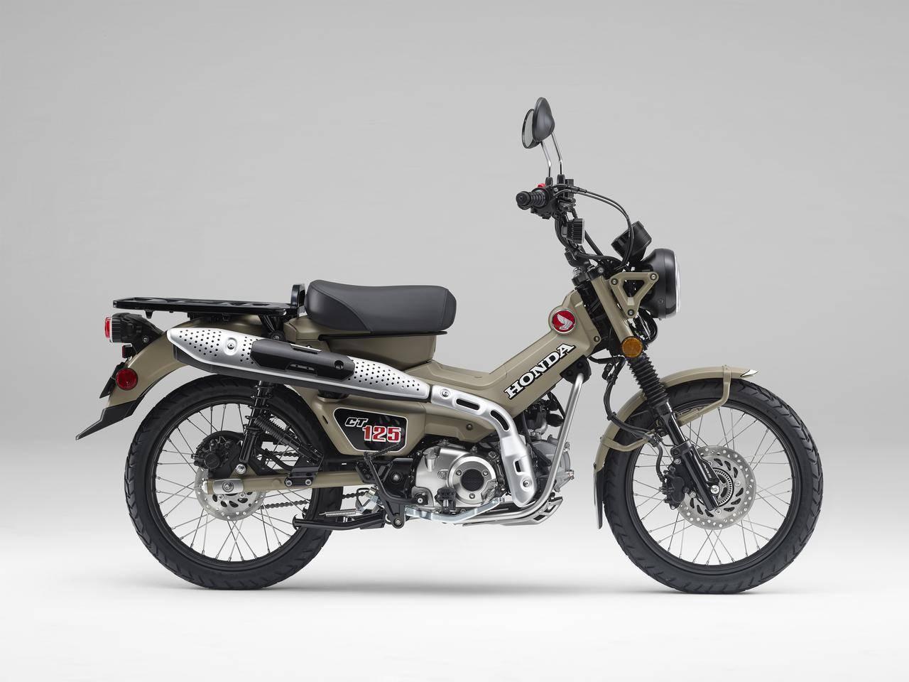 Honda ct125 2020 huntercub 1 grey