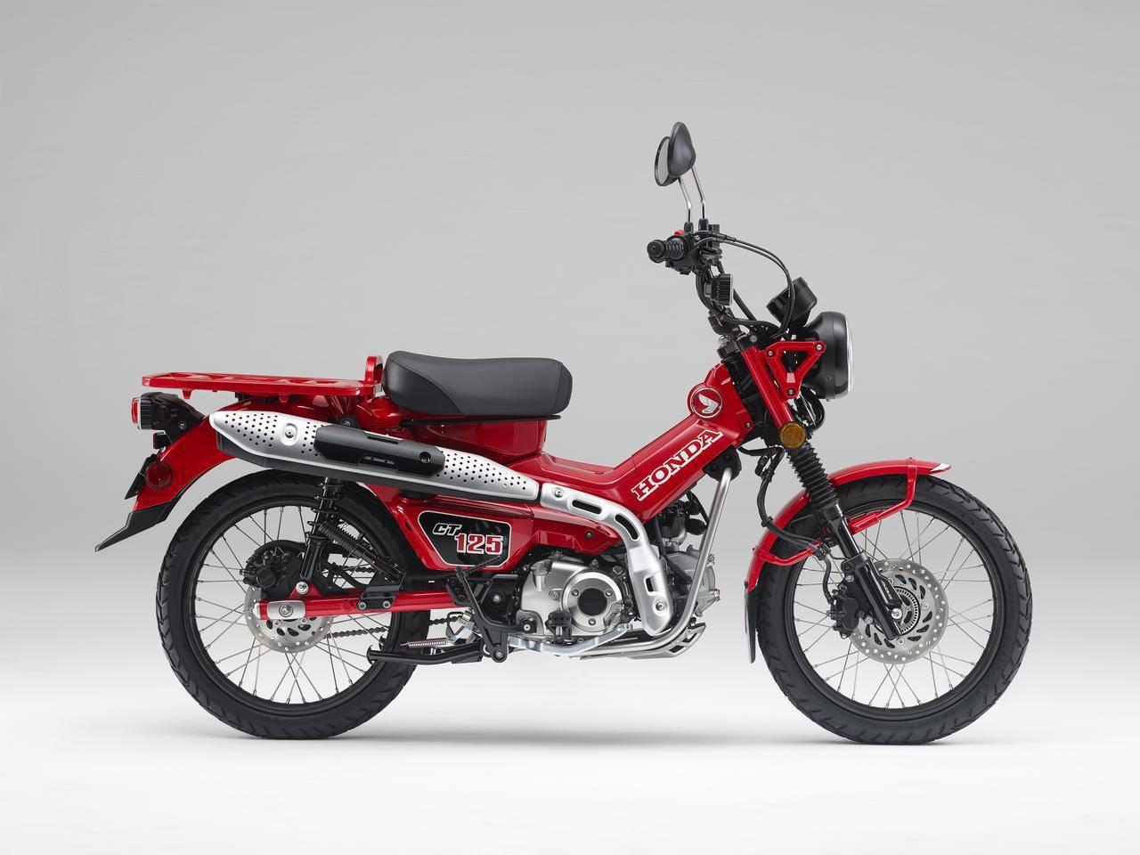 Honda ct125 2020 huntercub 1 merah 1