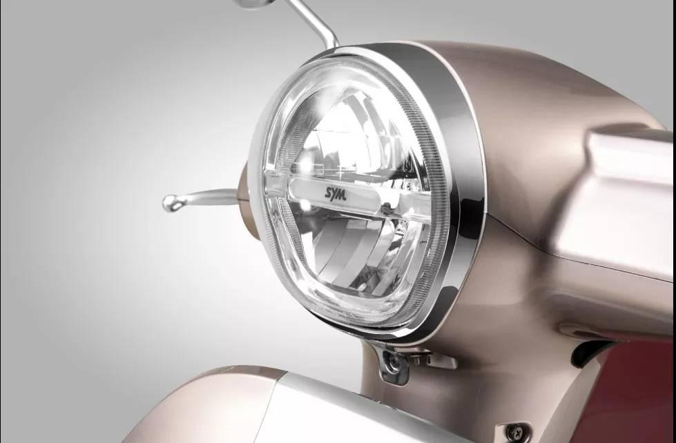 sym fiddle 125 2020 lampu