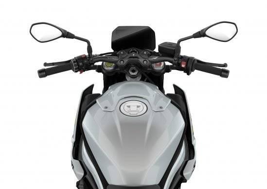 BMW S1000R 2021 speedo