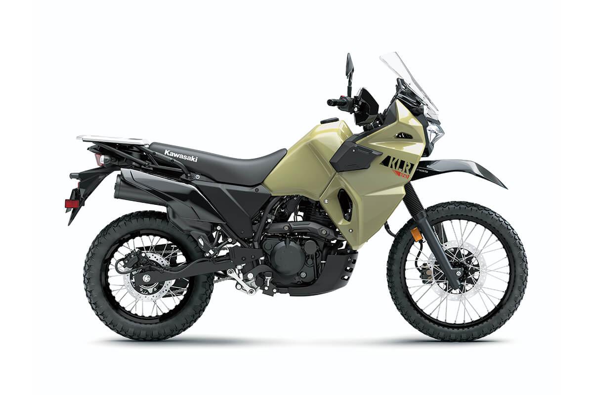 Kawasaki KLR650 2022 ijau