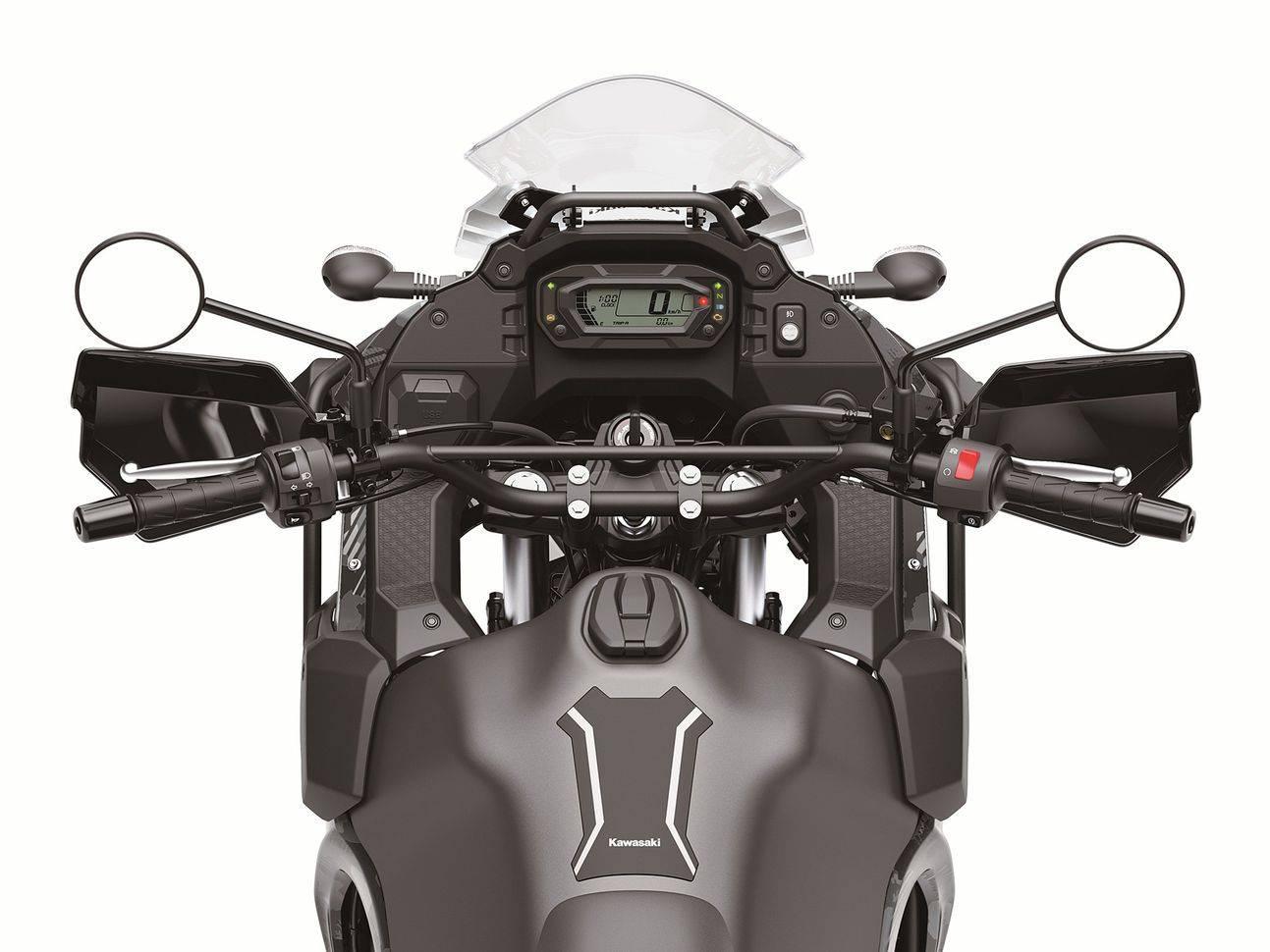Kawasaki KLR650 2022 speedo