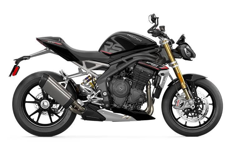 Triumph Speed Triple RS 1200 2021 HITAM