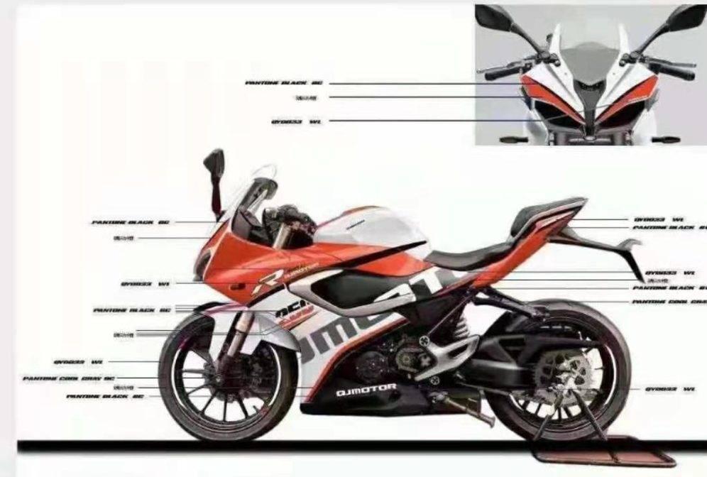 QJMotor 250cc 3