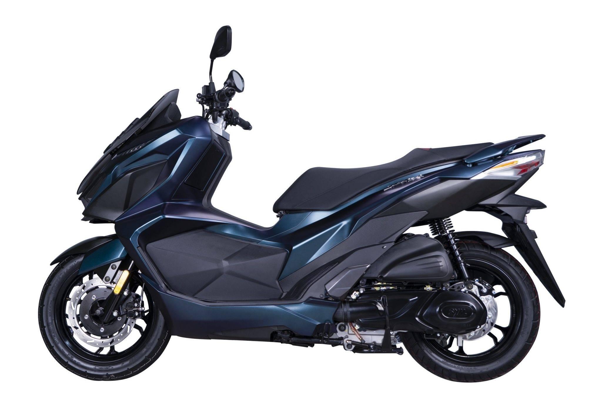 SYM JET-X 150 2021 Malaysia hitam