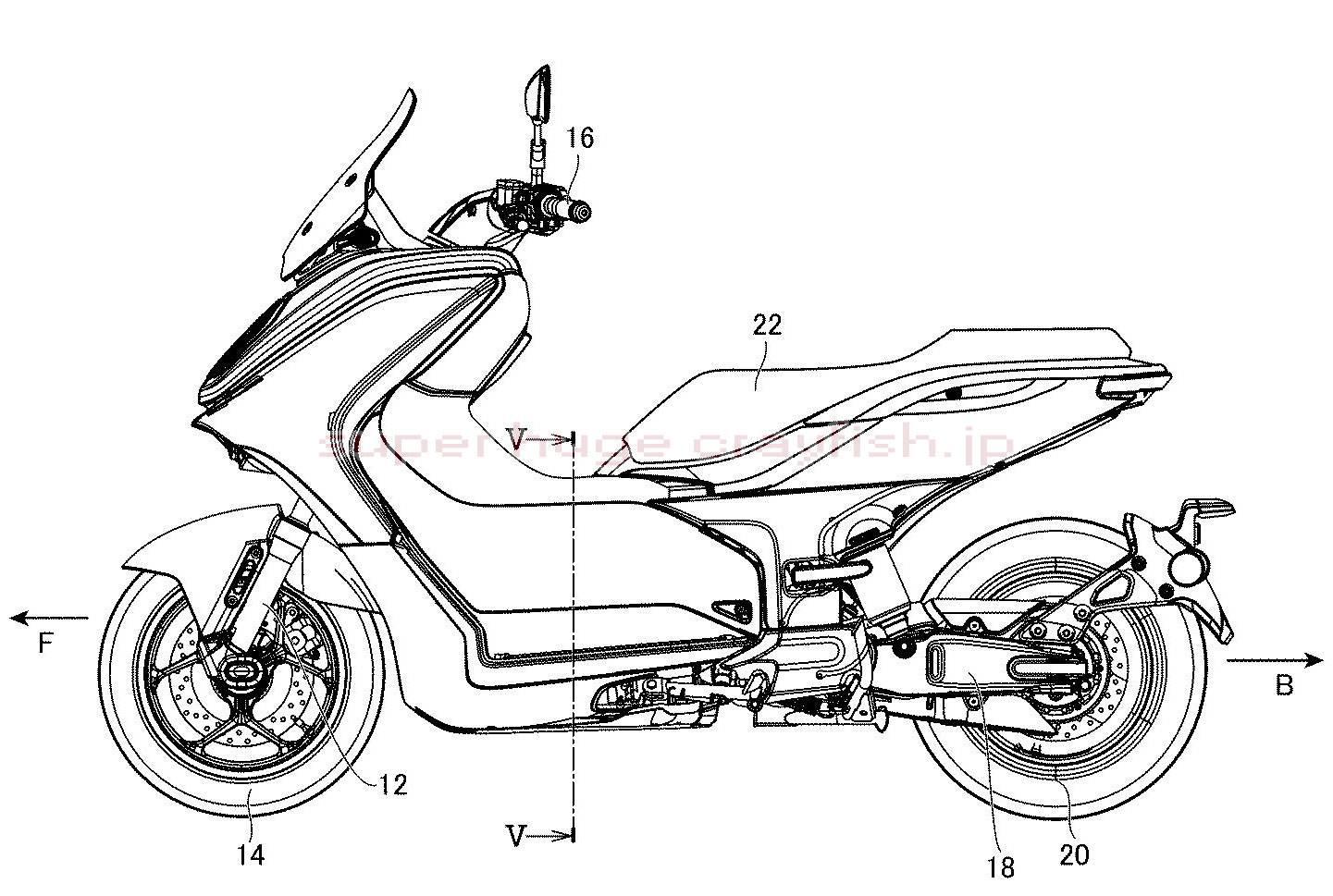 Yamaha E01 PATENT 2