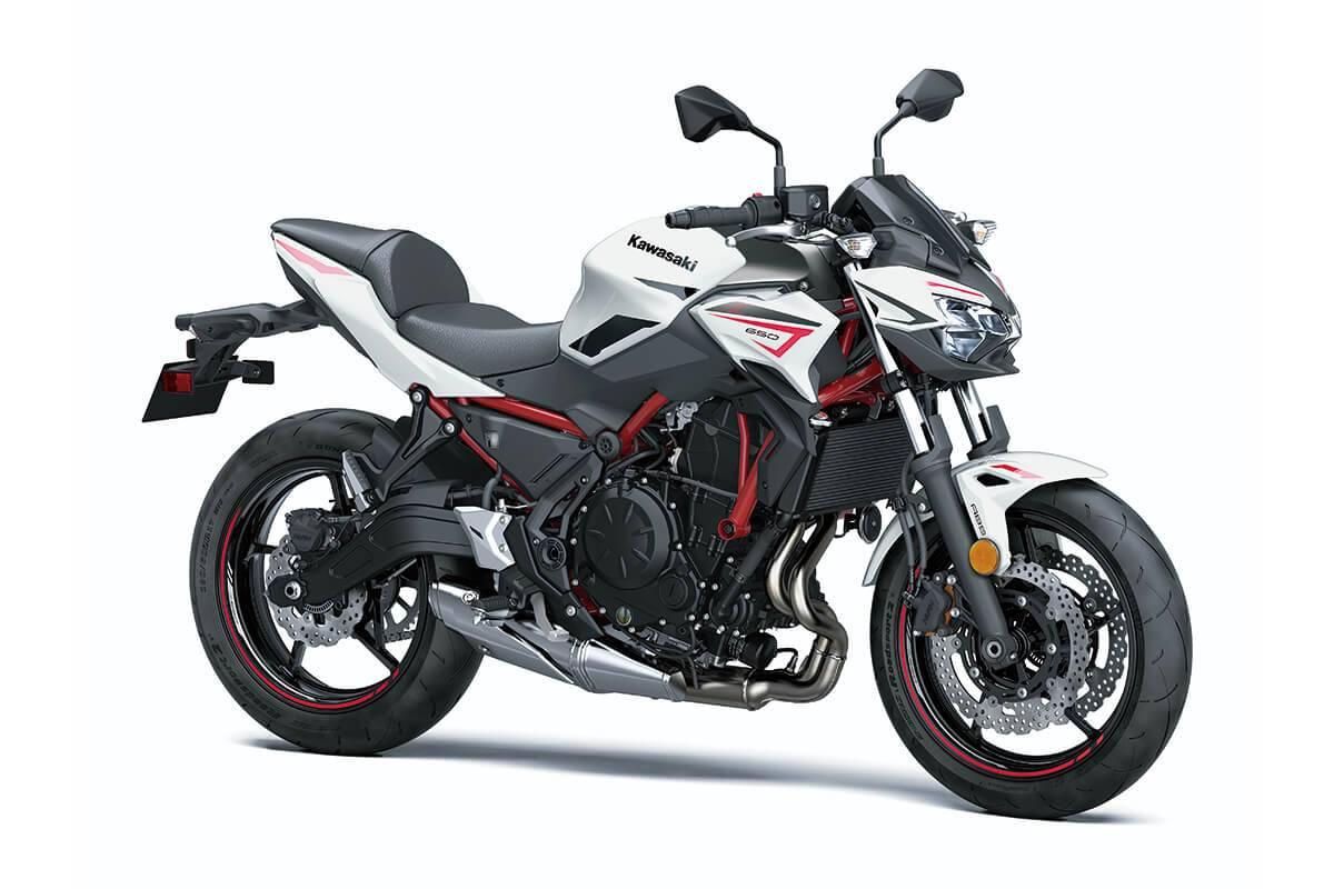 Kawasaki Z650 2022 putih