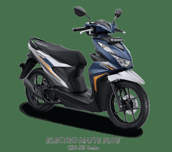 Honda Beat 2021 ELECTRO MATTE BLUE ISS