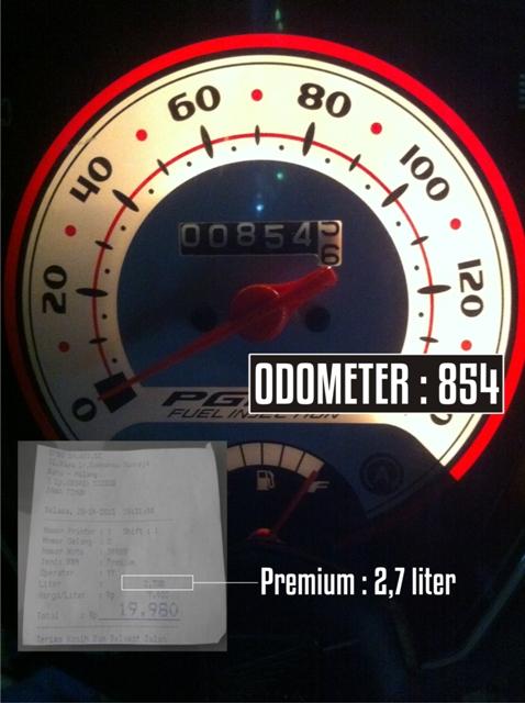 Uji Konsumsi BBM Honda Beat Pop Iss, 1 Liter Premium Sanggup Ngacir