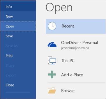 Cara Mengembalikan File yang Hilang atau Korup di Microsoft Word 2016