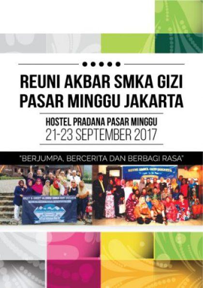 Buku Agenda Reuni Akbar SMKA Gizi Pasar Minggu