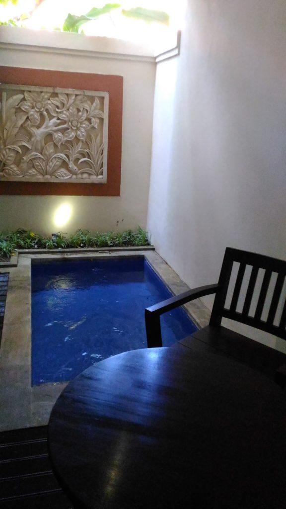 bwkuta villa plunge pool