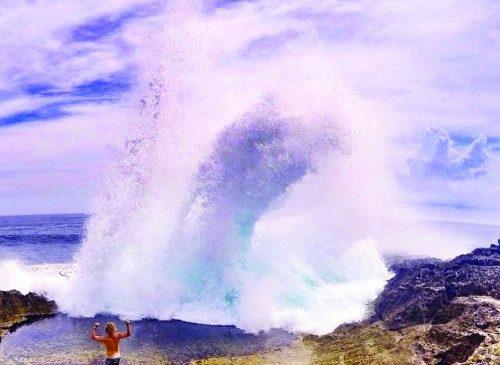 Memacu Adrenalin Di Tebing Devil's Tears Nusa Lembongan
