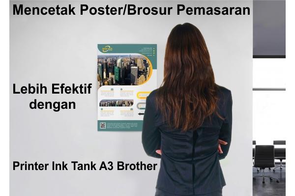 printer bagus, printer A3, Ink Tank Printer, Printer isi ulang, cetak A3, printer A3, refill printer, printer brother, printer ink tank A3 Brother, brother printer indonesia,Ink Tank A3