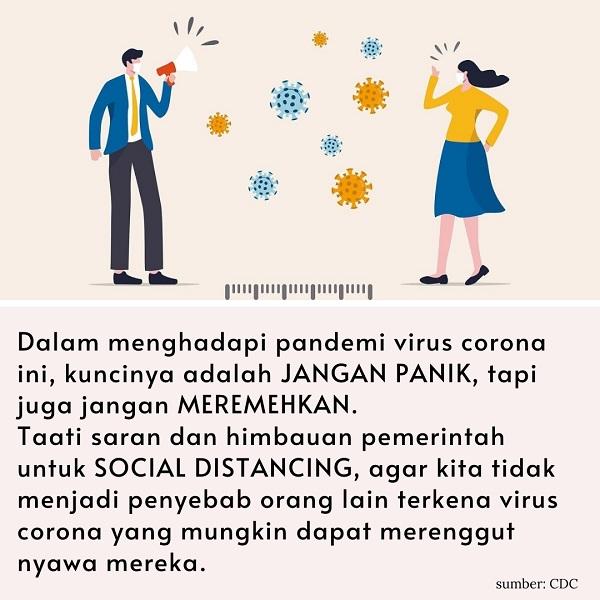 social distancing,social distancing untuk mencegah penyebaran virus corona,apa itu social distancing,social distancing adalah,pengertian social distancing