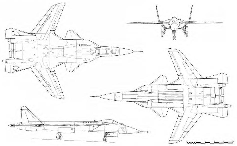 Schéma Su-47