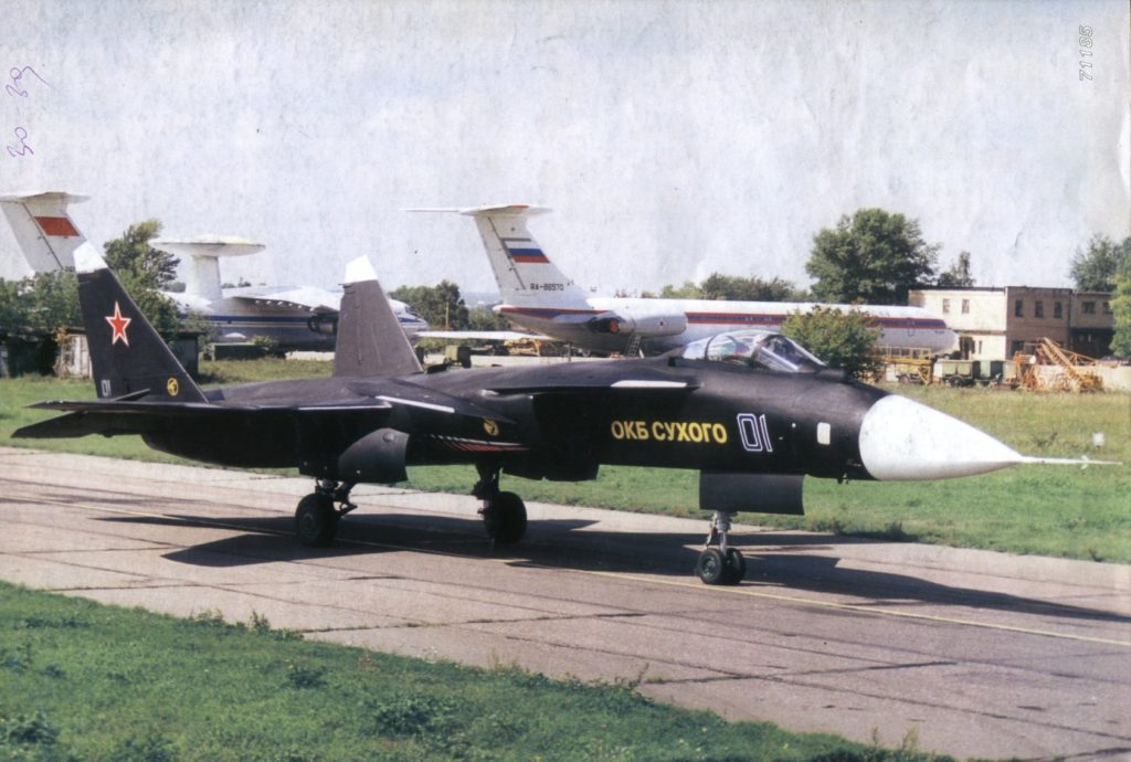 Su-47 s pilotem