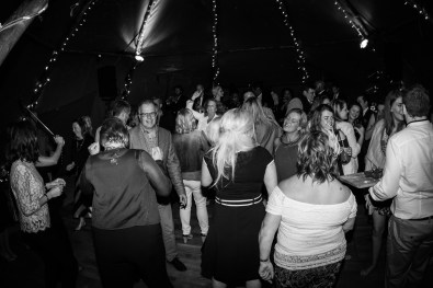 Birthday Party Disco in a Tipi with Fairy Lights