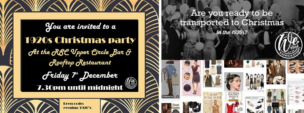 1920s invite warwick events flapper gatsby