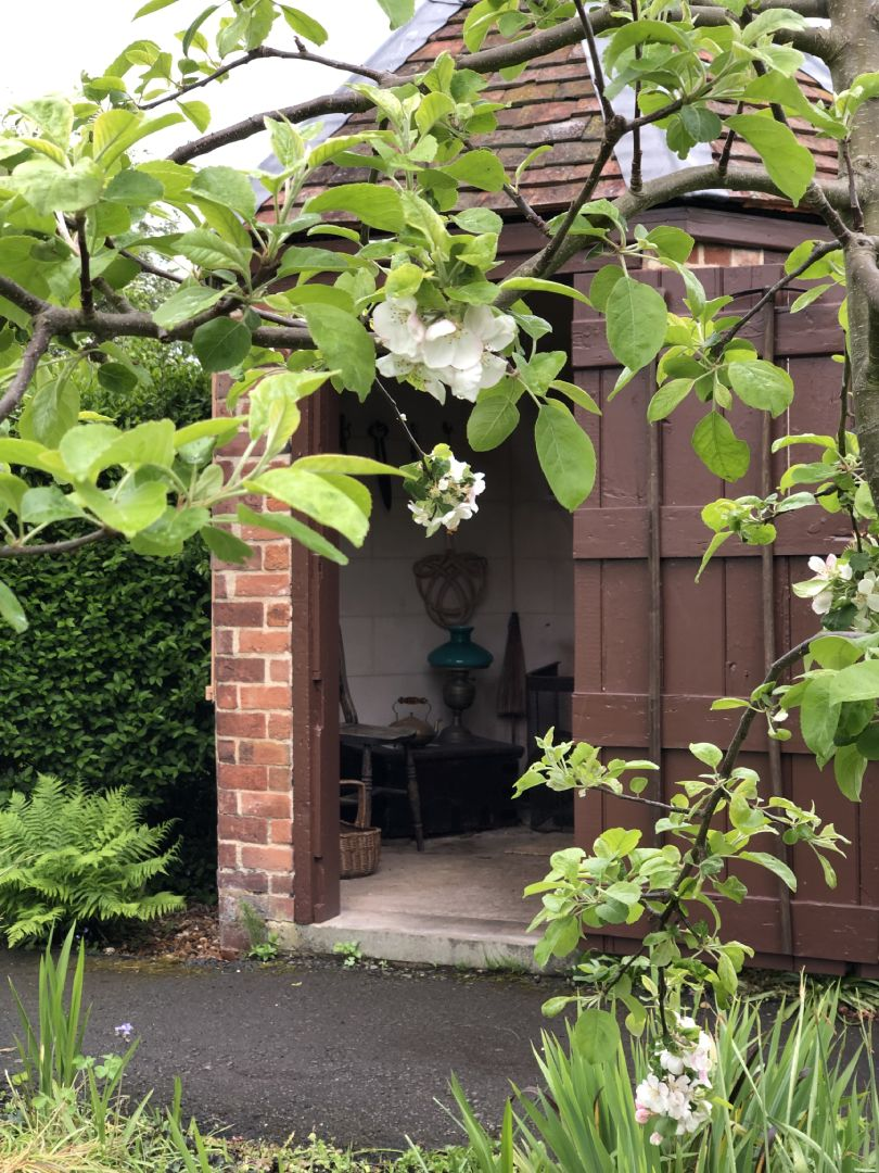 Restored Victorian Grade II listed summer house