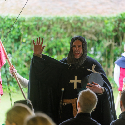 Medieval Knight, a Warwick Events meet to grow team activity