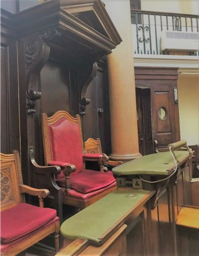 Old Shire Hall Judges Docks