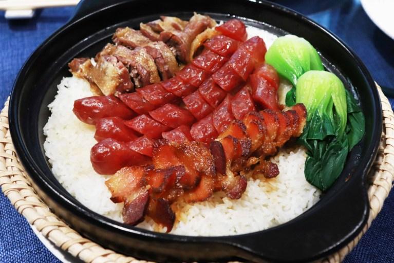 sausage claypot