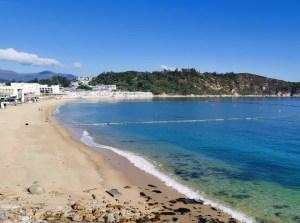 beach and ocean view