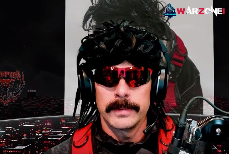 Warzone streamers in twitch: DrDisrespect