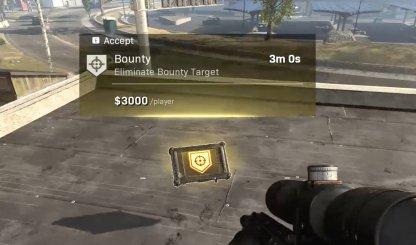 bounty in solo warone