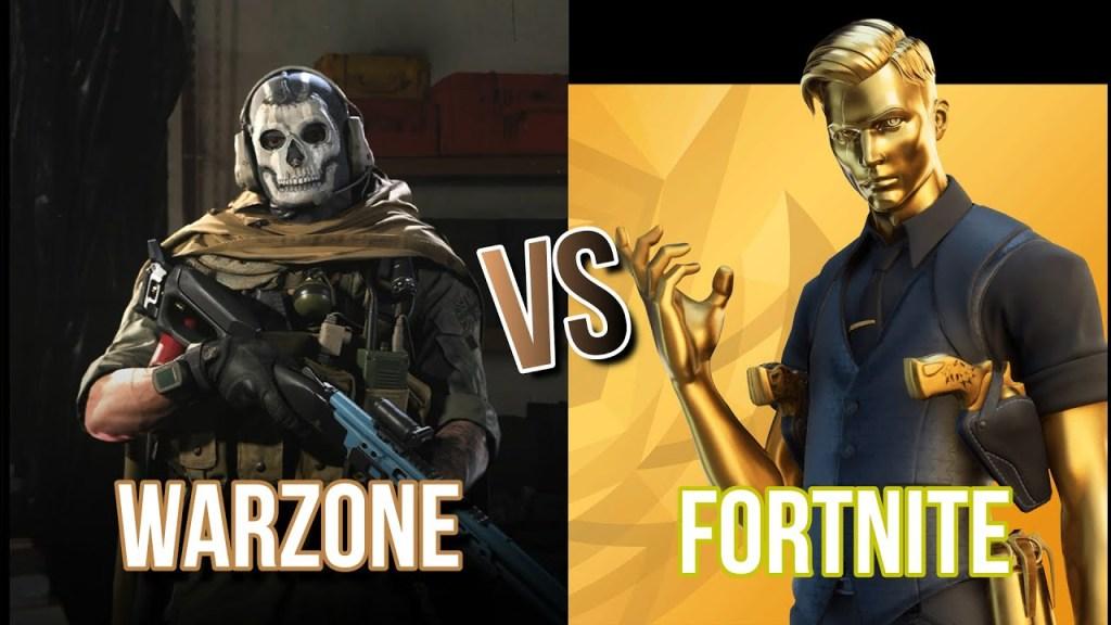 warzone vs fortnite