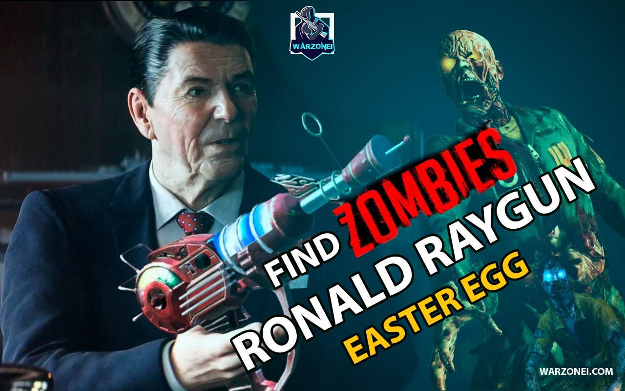 Ronald Raygun Easter Egg In Zombies