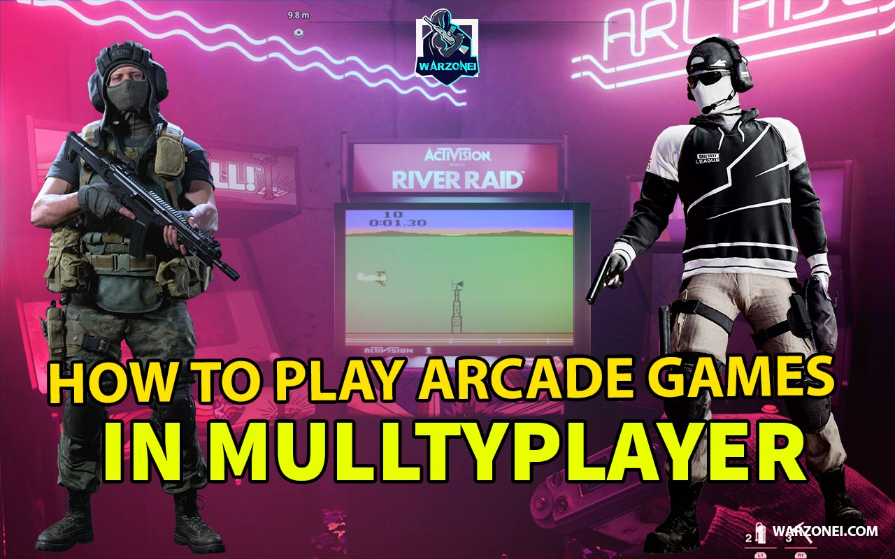 arcade game in mulltyplayer